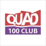 QUAD 100 Club logo