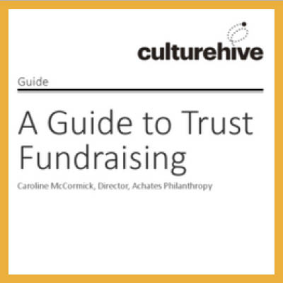 A Guide to Trust Fundraising front cover