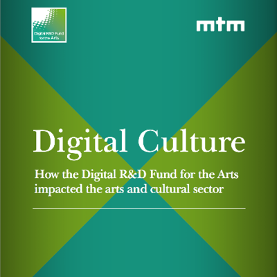 Digital R&D Fund logo and Digital Culture title