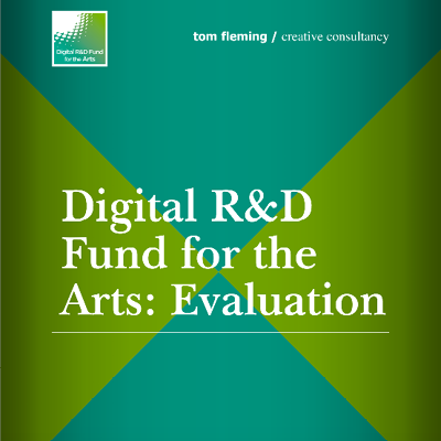 Evaluation front cover featuring title and logo