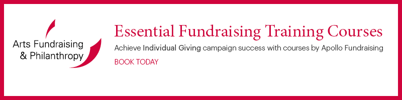 Essential Fundraising Training Courses advert link