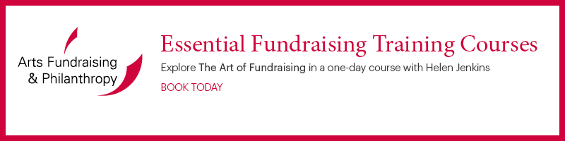 The Art of Fundraising course advert