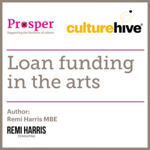 Loan funding in the arts