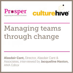 Managing teams through change