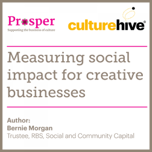 Measuring social impact for creative businesses