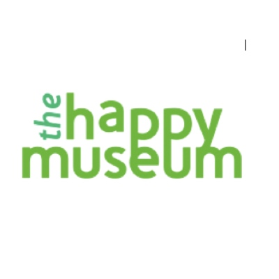 The Happy Museum logo (text)