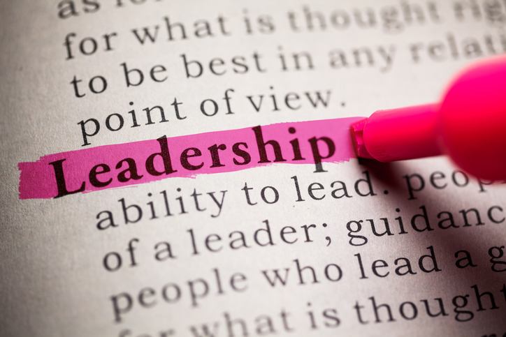 Dictionary, definition of the word Leadership.