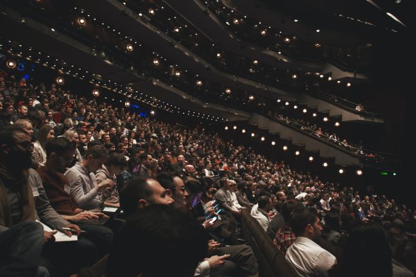 Audience in Barbican Auditorium