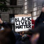 Black Lives Matter sign at BLM Protest
