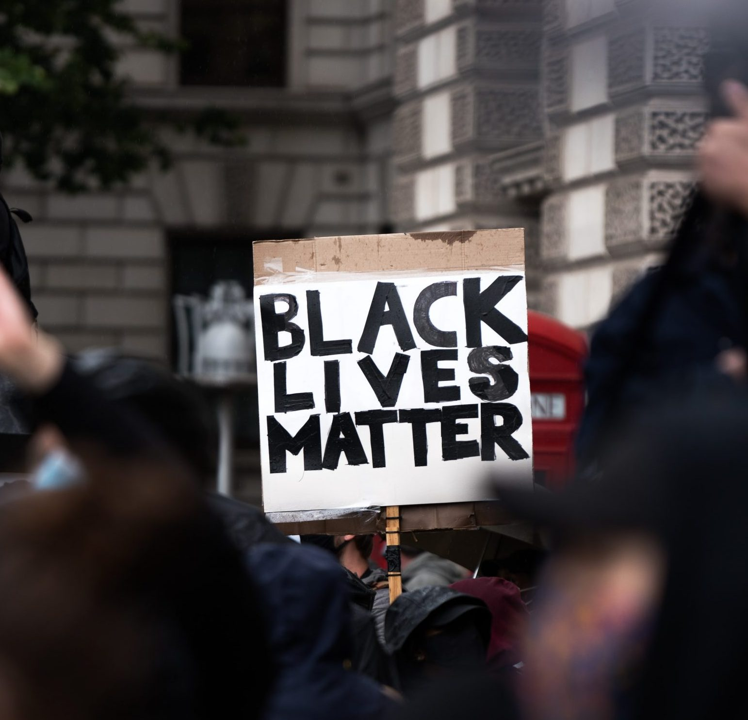Black Lives Matter sign at BLM Protest