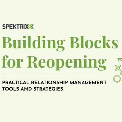 Cover page Building Blocks for Reopening