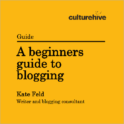 A beginners guide to blogging resource cover