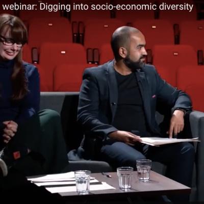 Webinar: Digging into socio-economic diversity