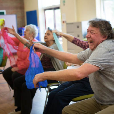 Dance to Health classes improve health and wellbeing of older people