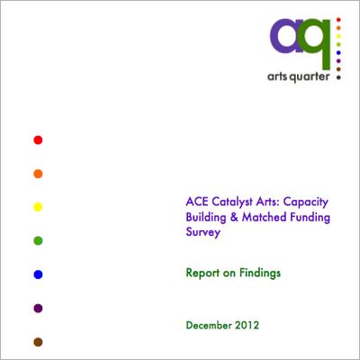 Arts Quarter logo and resource cover