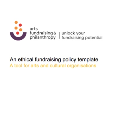 Ethical Fundraising Policy Template
