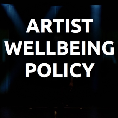 Health and Wellbeing - China Plate's Artist Wellbeing Policy
