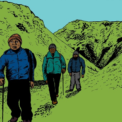 Black Men Walking: report on the findings of a large tour of new Black British work