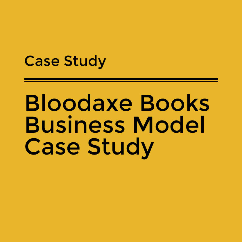 Bloodaxe Books Business Model Case Study