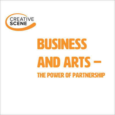 Business and Arts - the power of partnership front cover