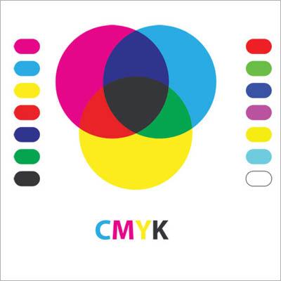 CMYK colour chart