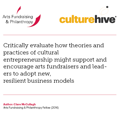 Cultural entrepreneurship, resilience and innovative business models