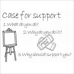 Case for support illustration