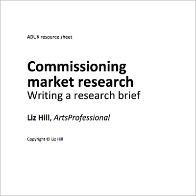 Commissioning Market Research cover
