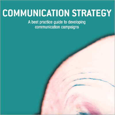 Communication strategy front cover