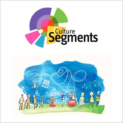 Culture Segments logo and illustration