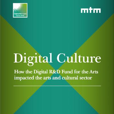 Digital R&D Fund logo and Digital Culture title
