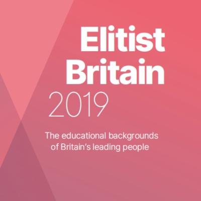 Elitist Britain 2019