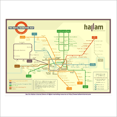 Hallam Internet Digital Marketing Map