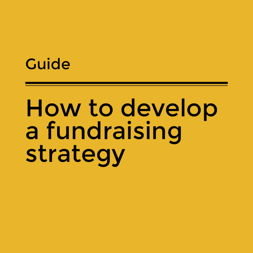 How to develop a fundraising strategy