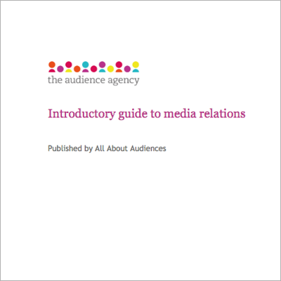 Introductory guide to media relations cover