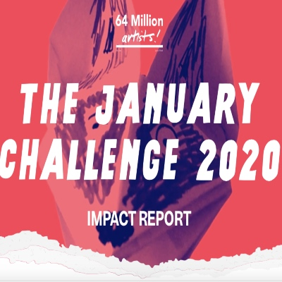 64 Million Artists January Challenge Impact Report