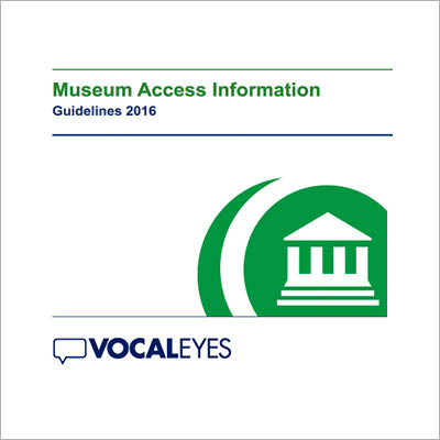 Museum Access Information Guidelines 2016