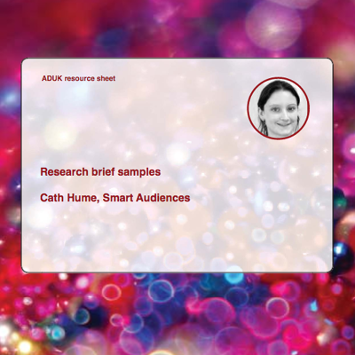 Research Brief Samples front cover