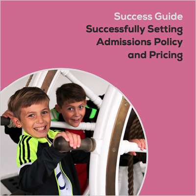 AIM Success Guide: successfully setting admissions policy and pricing