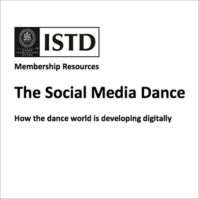 The Social Media Dance front cover