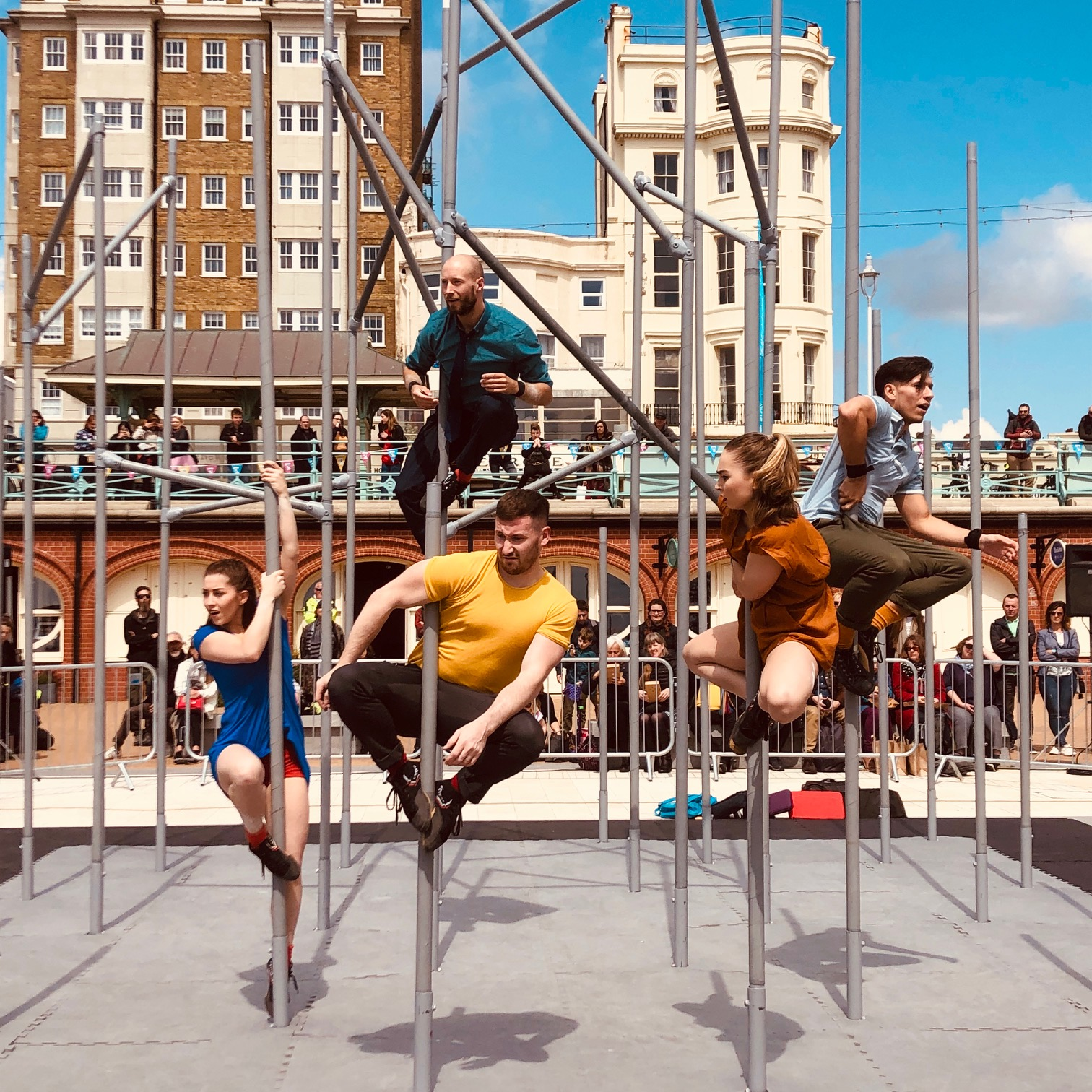Wild, by Motionhouse at Brighton Festival. (Without Walls Commission)