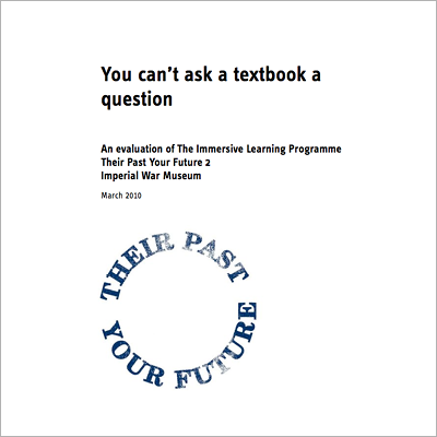 You can't ask a textbook a question cover screen shot