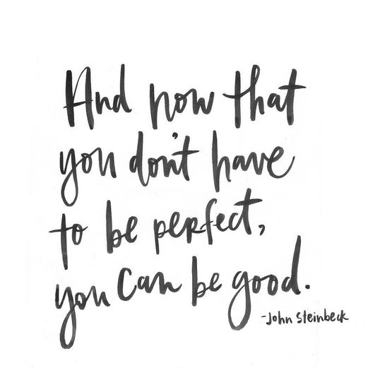 Managing Up. Blog 3. Letting go of perfection