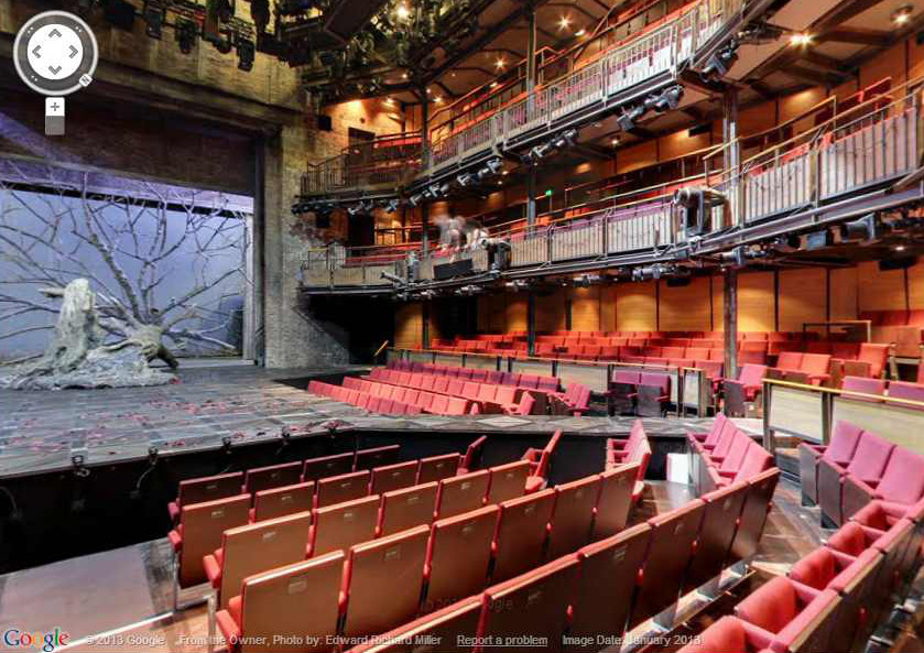 Mapping the inside of a cultural venue with Google Street View