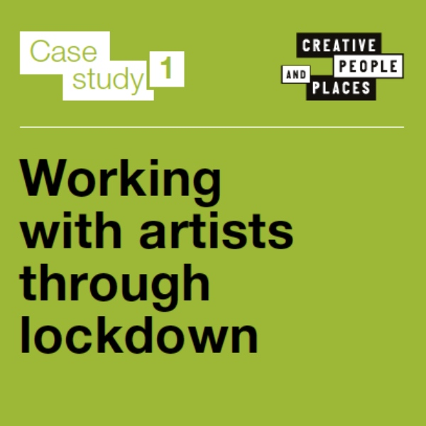 Lockdown Learning: #1 Working with artists through lockdown