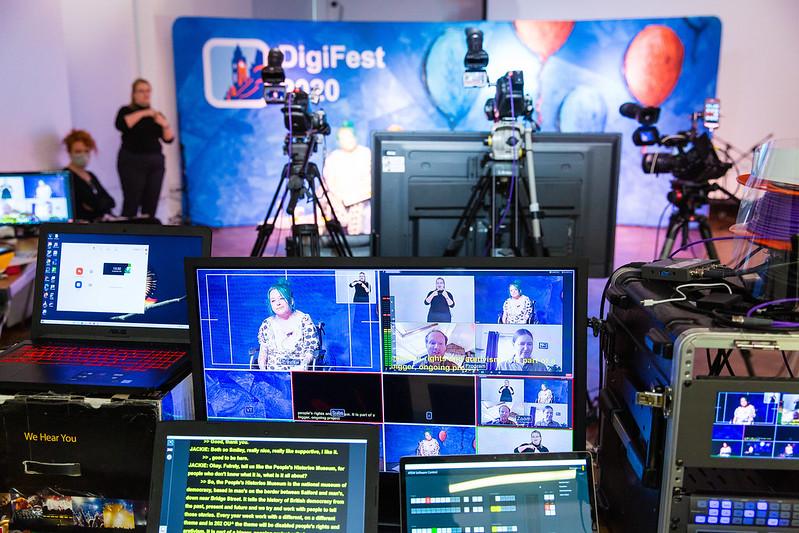 Monitors at digifest
