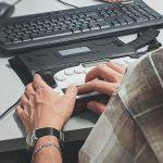 Braille reader for computer