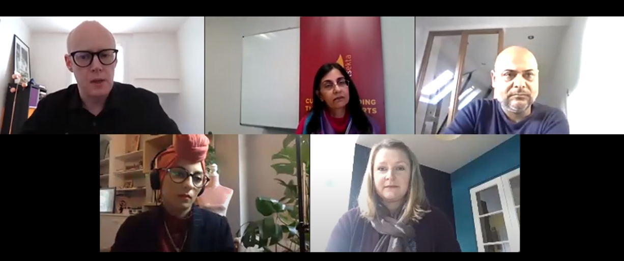 Webinar: What does cultural participation look like with and post-Covid?