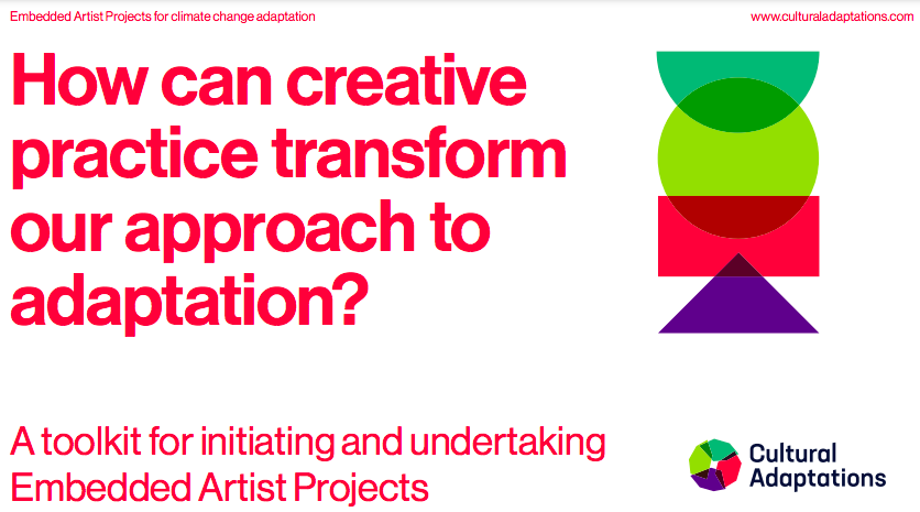 Toolkit: Embedded Artists for Climate Adaptation