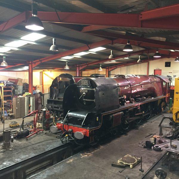 Railway Touring Company steam train No. 6233